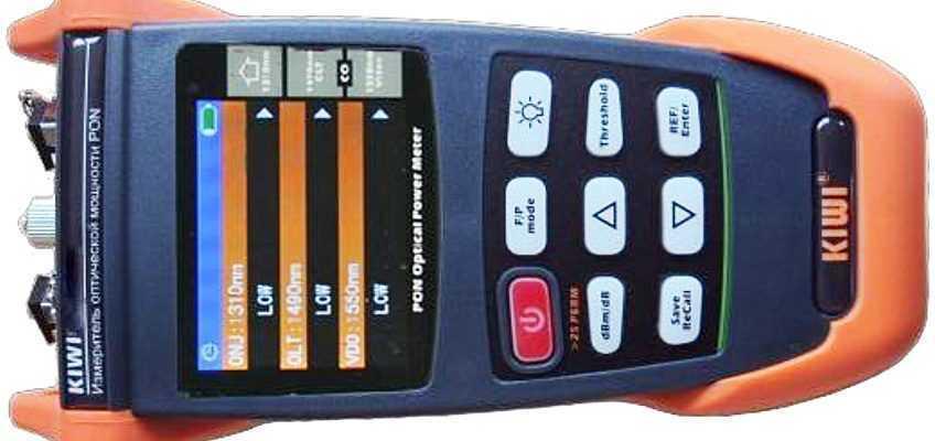 Компания «КивиТех» представляет обновленную версию измерителя мощности для сетей PON