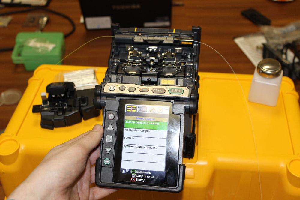 Fujikura 80S : Сварочный аппарат для оптических волокон