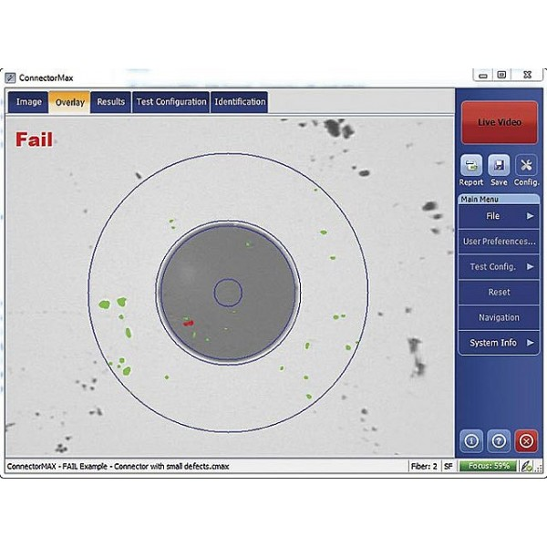 EXFO FIP-400 : Оптический микроскоп