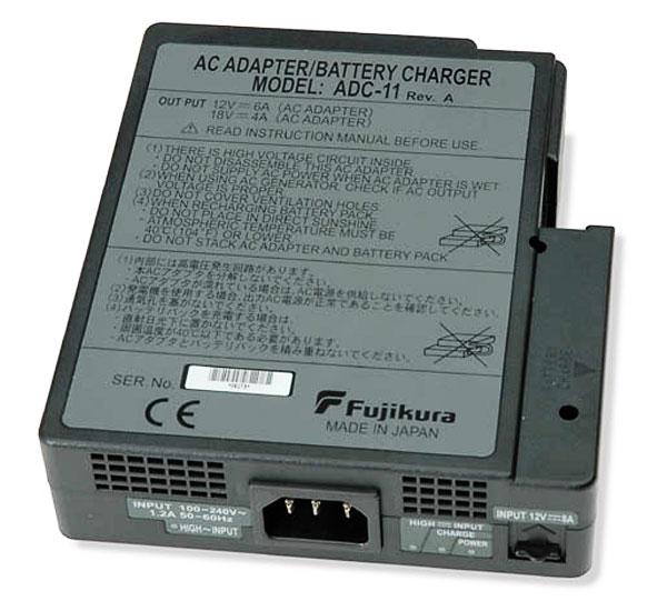 Fujikura adc-11 : Съемный адаптер питания для Fujikura FSM-50 и Fujikura FSM17