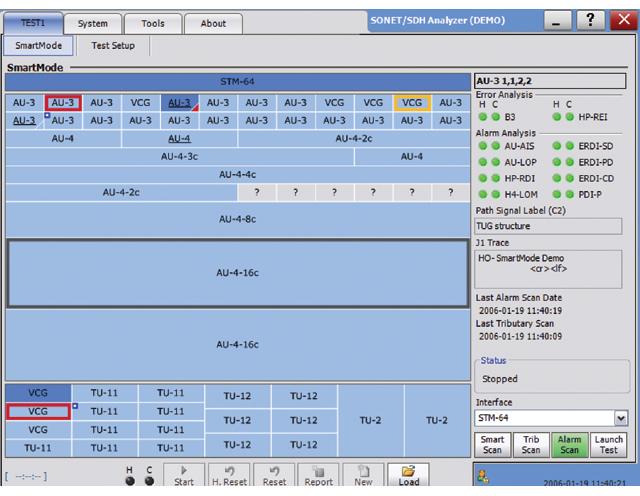 FTB-8130NG Transport Blazer : Модуль мультисервисный анализатор