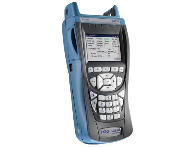 AXS-200/635 : Тестер для медных линий, VDSL2, ADSL2+ и IP Triple-Play