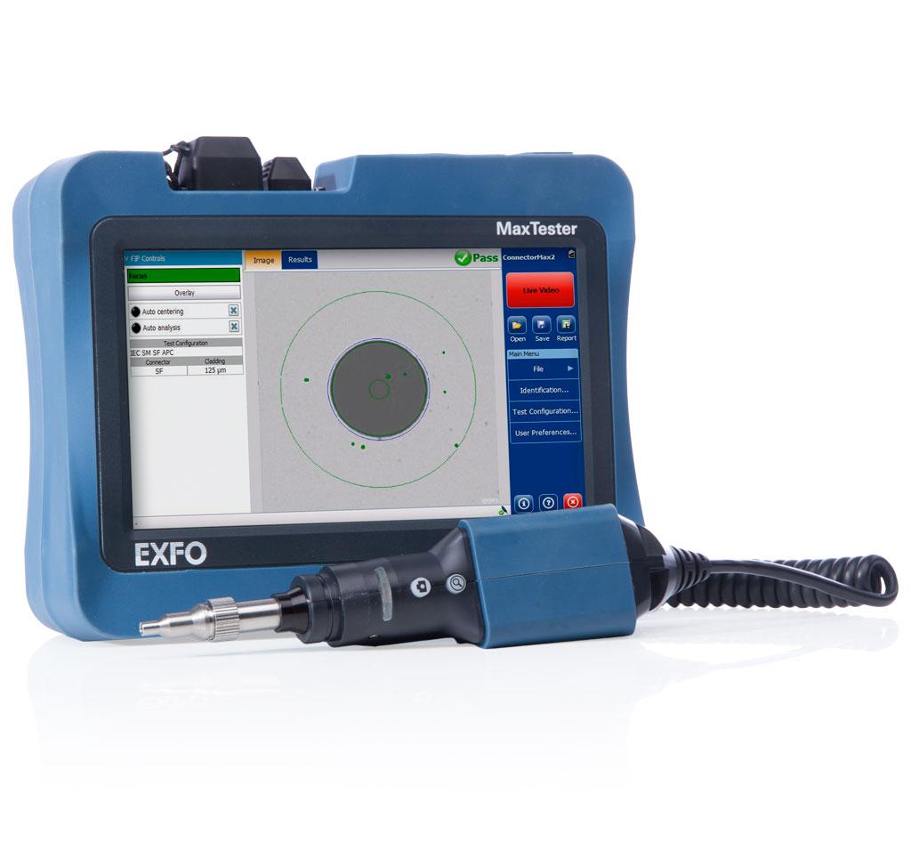 EXFO MAX-FIP : Прибор для исследования и сертификации оптических коннекторов