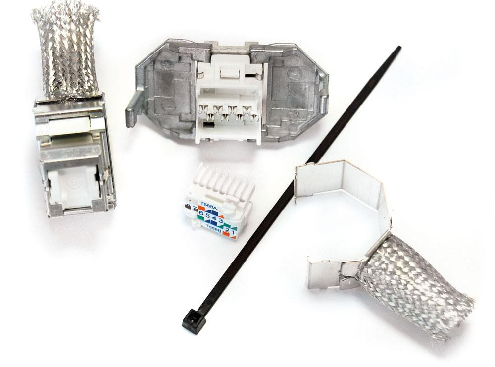 : Розеточный модуль Volition® RJ45 категории 6 STP