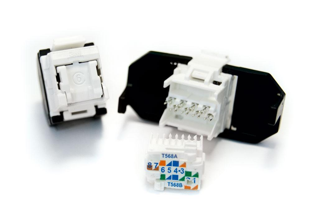 : Розеточный модуль Volition® RJ45 категории 6 (4 шт.)