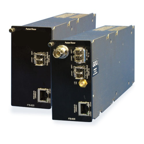 FTB-8525/8535 Packet Blazer : Модуль тестирования Fibre Channel и Ethernet
