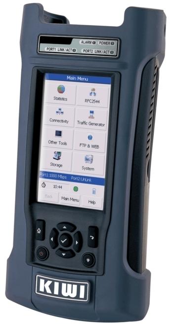KIWI-3120 : Анализатор потоков Gigabit Ethernet