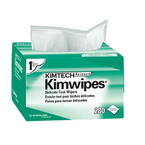 Безворсовые салфетки KIMTECH SCIENCE (KIMWIPES). : Салфетки для оптики и точных работ