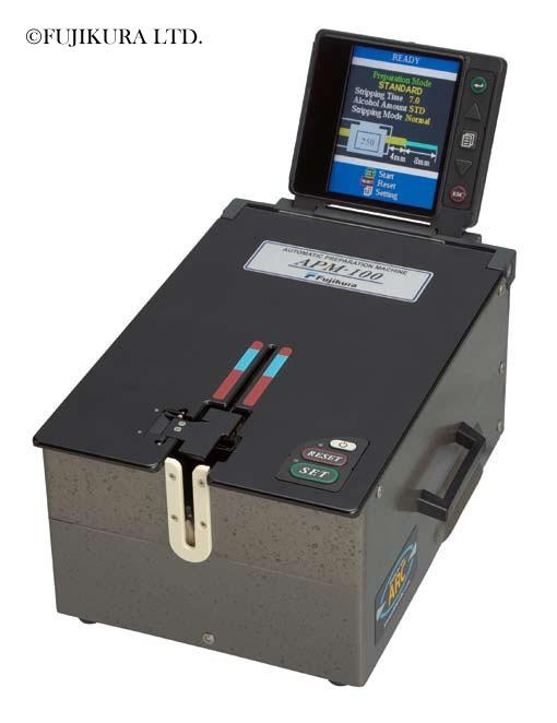 Fujikura APM-100 : Автоматическая система подготовки волокна к сварке