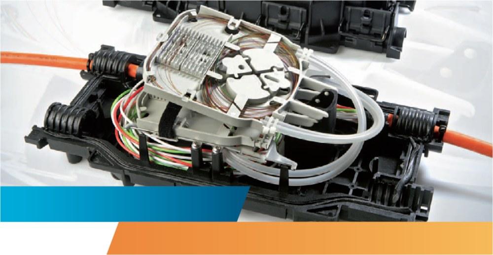 FOSC-350 : Компактная экономичная проходная оптическая муфта