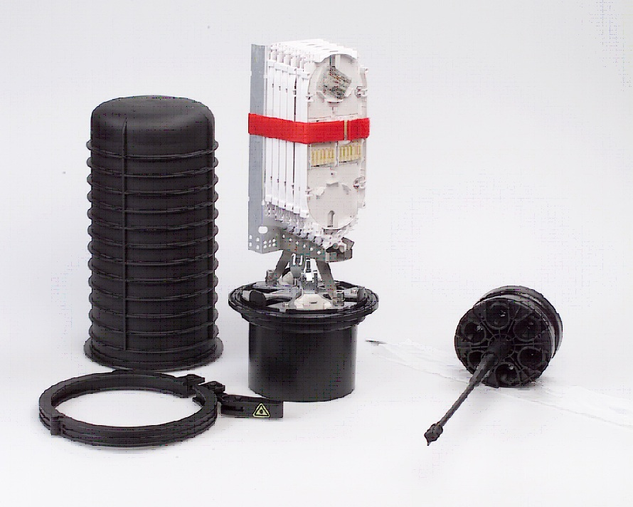 FOSC-400 : Муфта оптическая для городских и магистральных сетей, оптический кросс