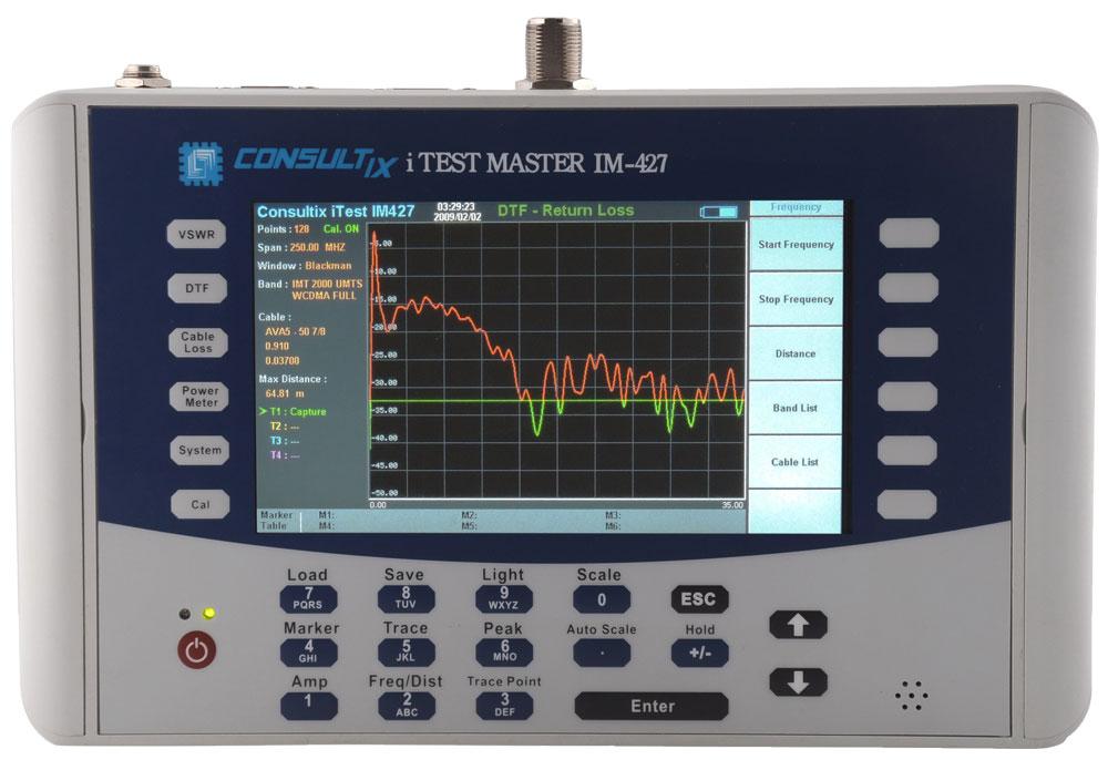 iTest Master IM-427 : Анализатор кабелей и антенн