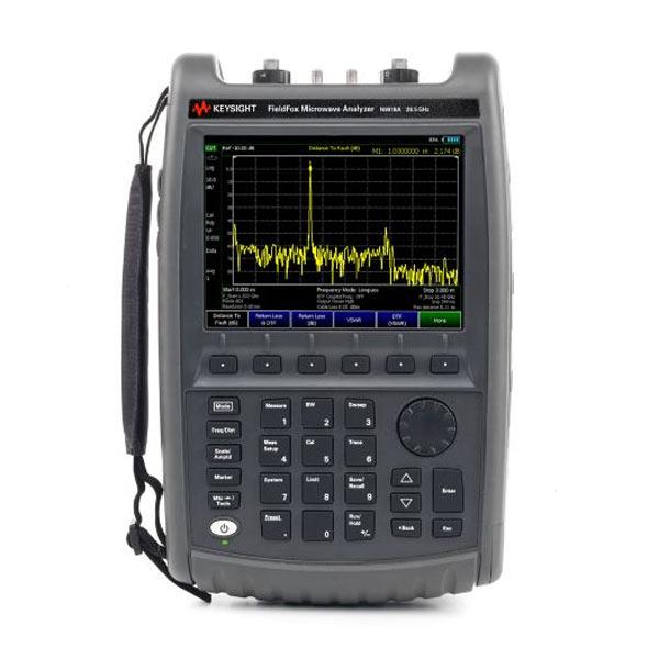 Keysight N9918A, 26,5 ГГц : Портативный комбинированный СВЧ анализатор FieldFox