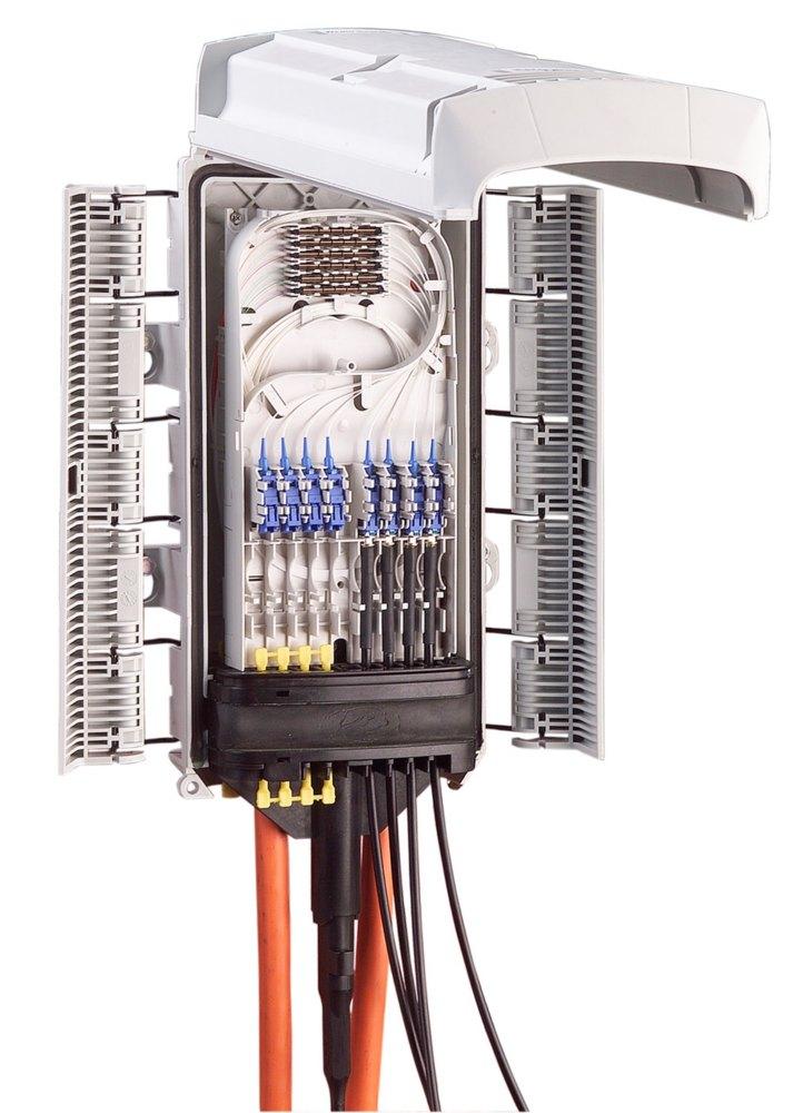 OFDC-B8 : Муфта распределительная оптическая наружного монтажа