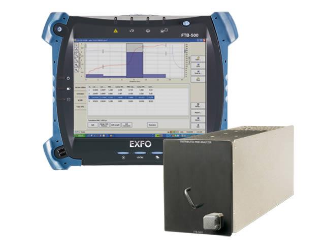EXFO FTB-5600 : Анализатор распределения поляризационной модовой дисперсии