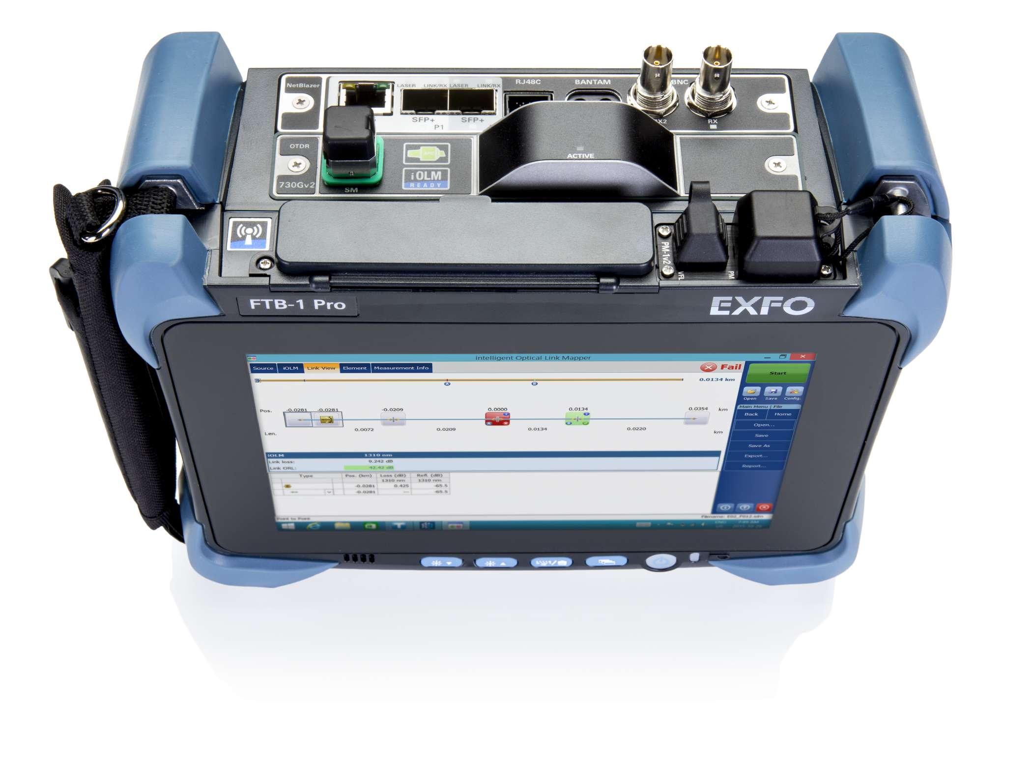 EXFO FTB-700Gv2 : Комбинированный мультисервисный тестер TD + OTDR