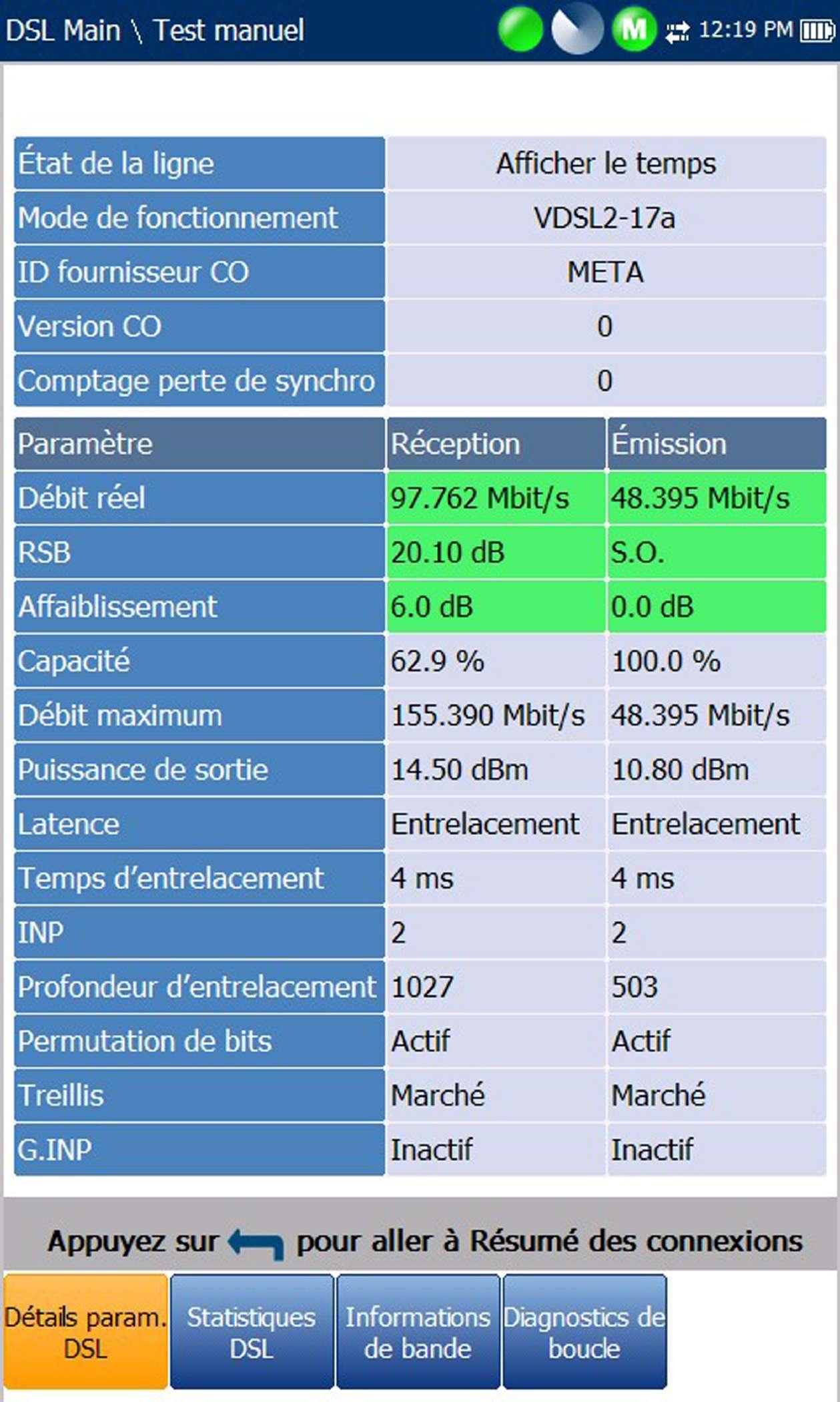 EXFO MaxTester-600 : Серия тестеров FTTN/ADSL2+/VDSL2 и Ethernet