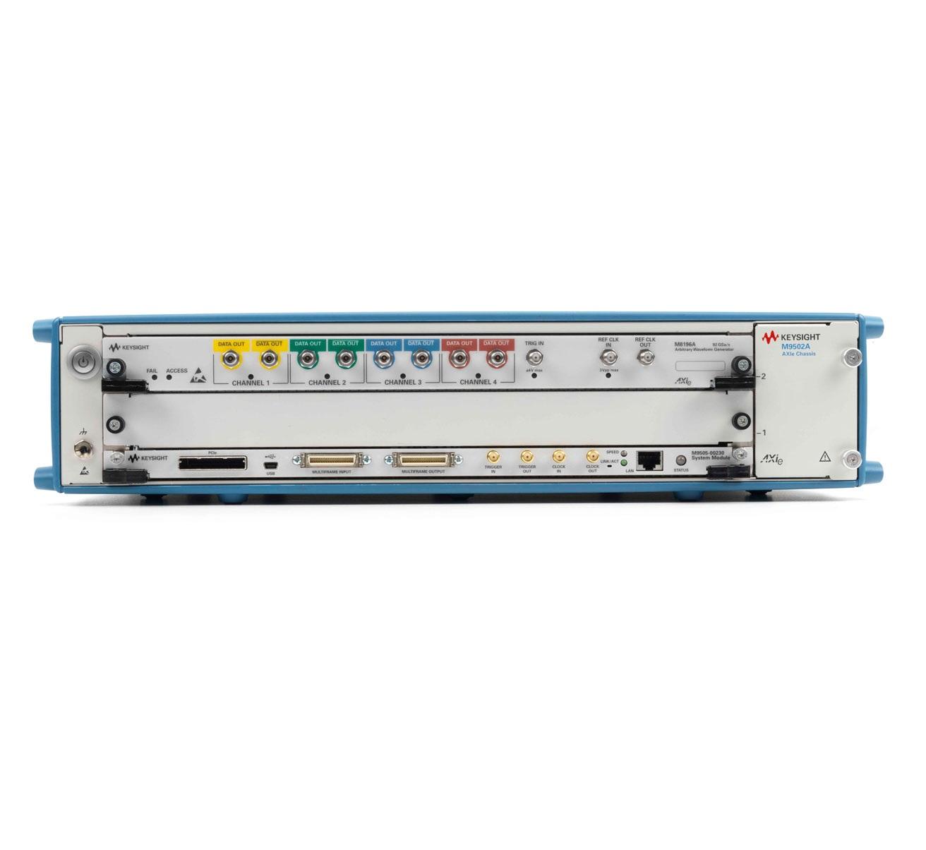 Keysight M8196A : Генератор сигналов произвольной формы, 92 Гвыб./с