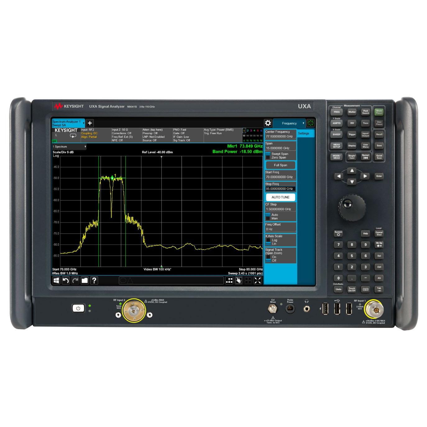 N9041B : Анализатор сигналов UXA от 3 Гц до 110 ГГц