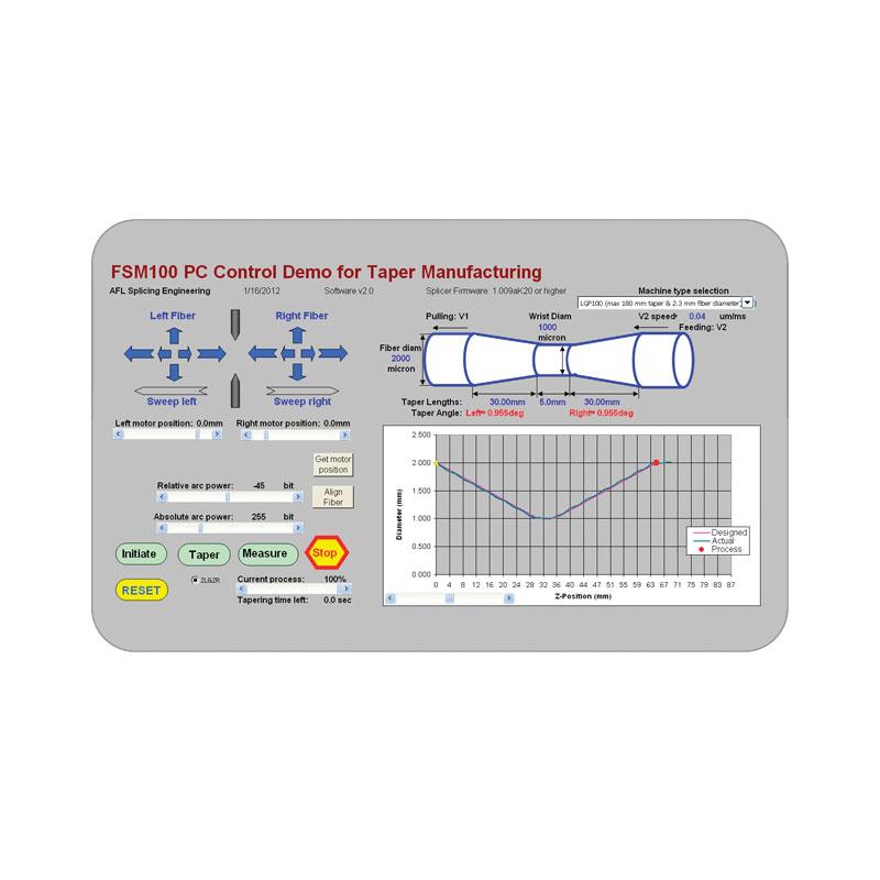 Fujikura LZM-100 LAZERMaster : Система для обработки и сварки оптических волокон