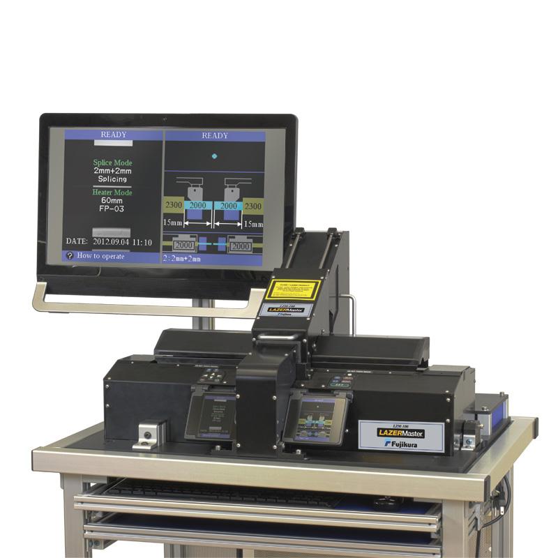 новейшая система для обработки и сварки оптических волокон Fujikura LZM-100 LAZERMaster