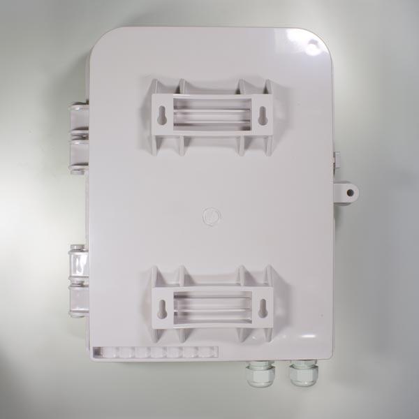 HTTB-X20A : Кросс оптический настенный с возможностью установки сплиттера 1x16 (FTTH-116)