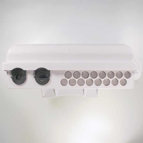 HTTB-X20B : Кросс оптический настенный с возможностью установки сплиттера 1x16 (FTTH-116)