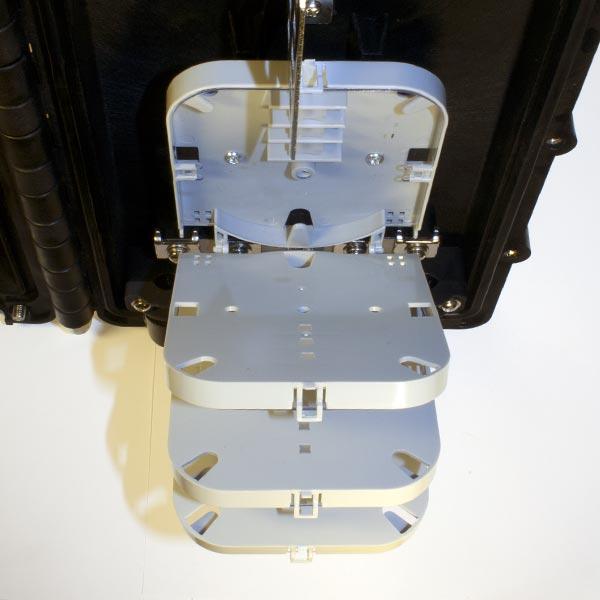 Huatel HTSC-502 : Муфта волоконно-оптическая  (от 12 до 48 волокон)