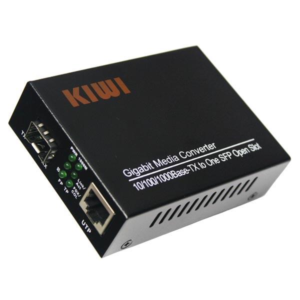 KIWI KW-1000SFP : Медиаконвертер SFP 10/100/1000Base-TX/1000Base-FX