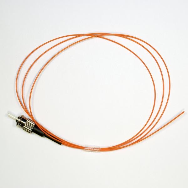 KIWI-OFC-STU-0-M6-09-1M : Оптический пигтейл MM 62,5/125 ST, 0.9мм, 1м