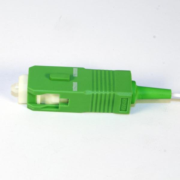 KIWI-OFC-SA-0-A1-09-1,5M : Оптический пигтейл SM G657 SC/APC, 0.9мм, 1,5м