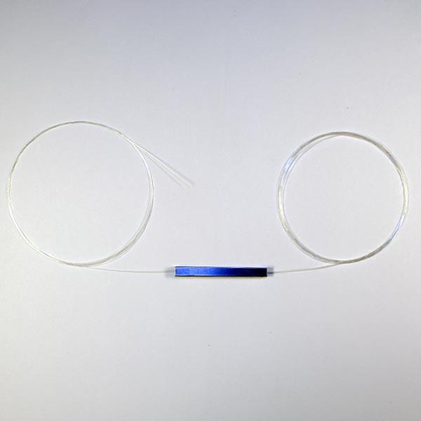 KIWI-PLCS-0102-A1-A3-L-L-1.5-0 : Сплиттер оптический планарный 1х2, 0,9мм,1.5м, неоконцованный