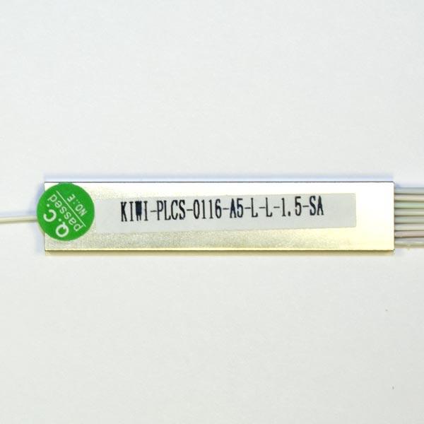 KIWI-PLCS-0116-A5-L-L-1.5-0 : Сплиттер оптический планарный 1х16, 0,9мм,1.5м, оконцованный SC/APC
