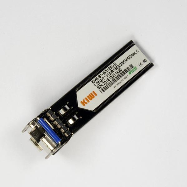 KIWI LC 20km T1310/R1550 DDM : Модуль SFP WDM 1,25G
