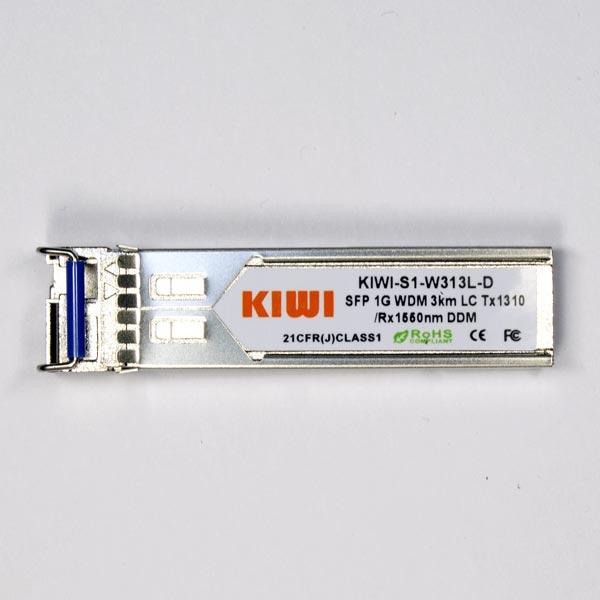 KIWI LC 3km T1310/R1550 DDM : МОДУЛЬ SFP WDM 1,25G