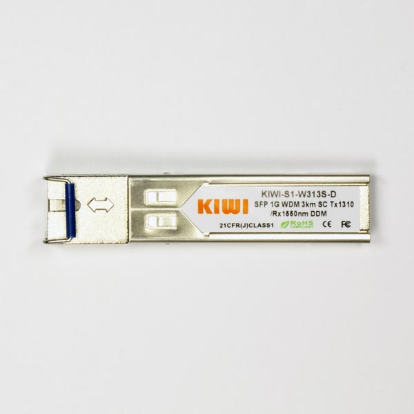 KIWI SC 3km T1310/R1550 DDM : МОДУЛЬ SFP WDM 1,25G
