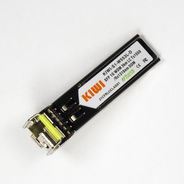 KIWI LC 3km T1550/R1310 DDM : МОДУЛЬ SFP WDM 1,25G