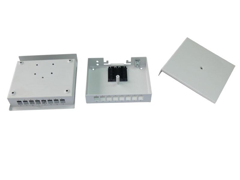 КР-НМк-8 SC : КР-НМк-8 SC Кросс распределительный оптический настенный