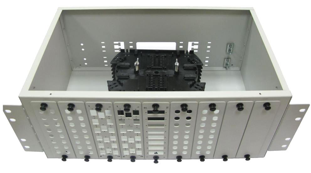 КРС-4U-144 : КРС-4U-144 Кросс распределительный стоечный 4U до 144 портов