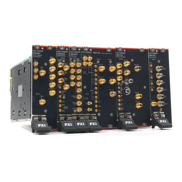Компания Keysight Technologies представила первый в отрасли генератор СВЧ-сигналов в формате PXIe с диапазоном частот до 44 ГГц и полосой модуляции до 1 ГГц