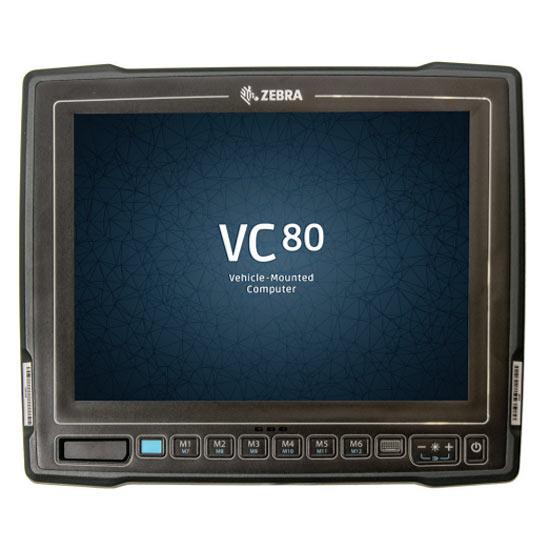 Zebra VC80 : Мобильный компьютер для установки на транспортных средствах