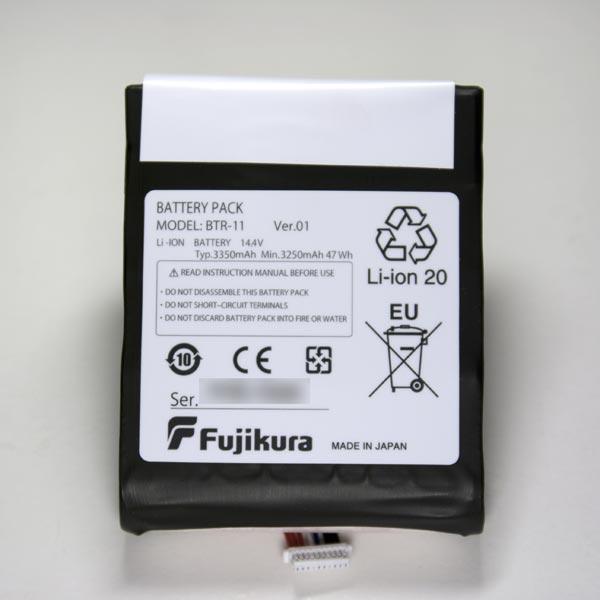 Fujikura BTR-11 : Аккумуляторная батарея