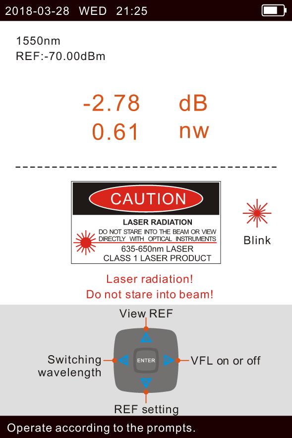 KIWI-7300 : Оптический рефлектометр
