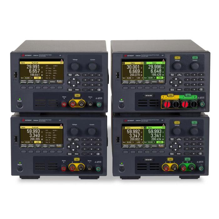 Лабораторные источники питания серии E36200 с автоматическим выбором диапазона от компании Keysight Technologies