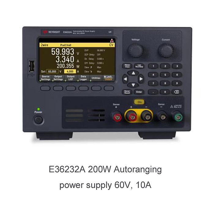 KEYSIGHT E36200 : Лабораторные источники питания с автоматическим выбором диапазона