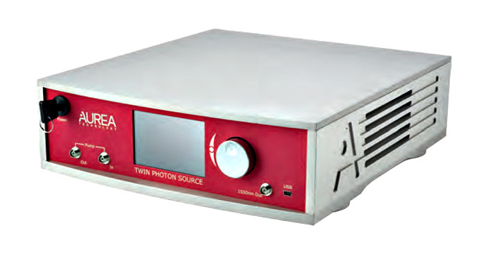 Компания AUREA Technology представляет первый в мире автономный источник запутанных пар фотонов на длине волны 1550 нм в C-диапазоне