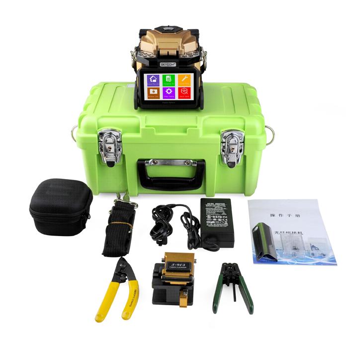 KIWI-6500 : Оптический сварочный аппарат  с выравниванием по сердцевине волокна