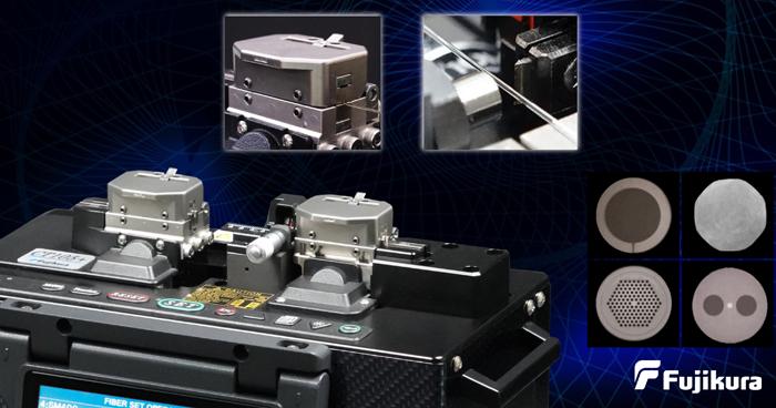 Компания Fujikura представляет линейку лабораторных скалывателей CT104+, CT105+, CT106+